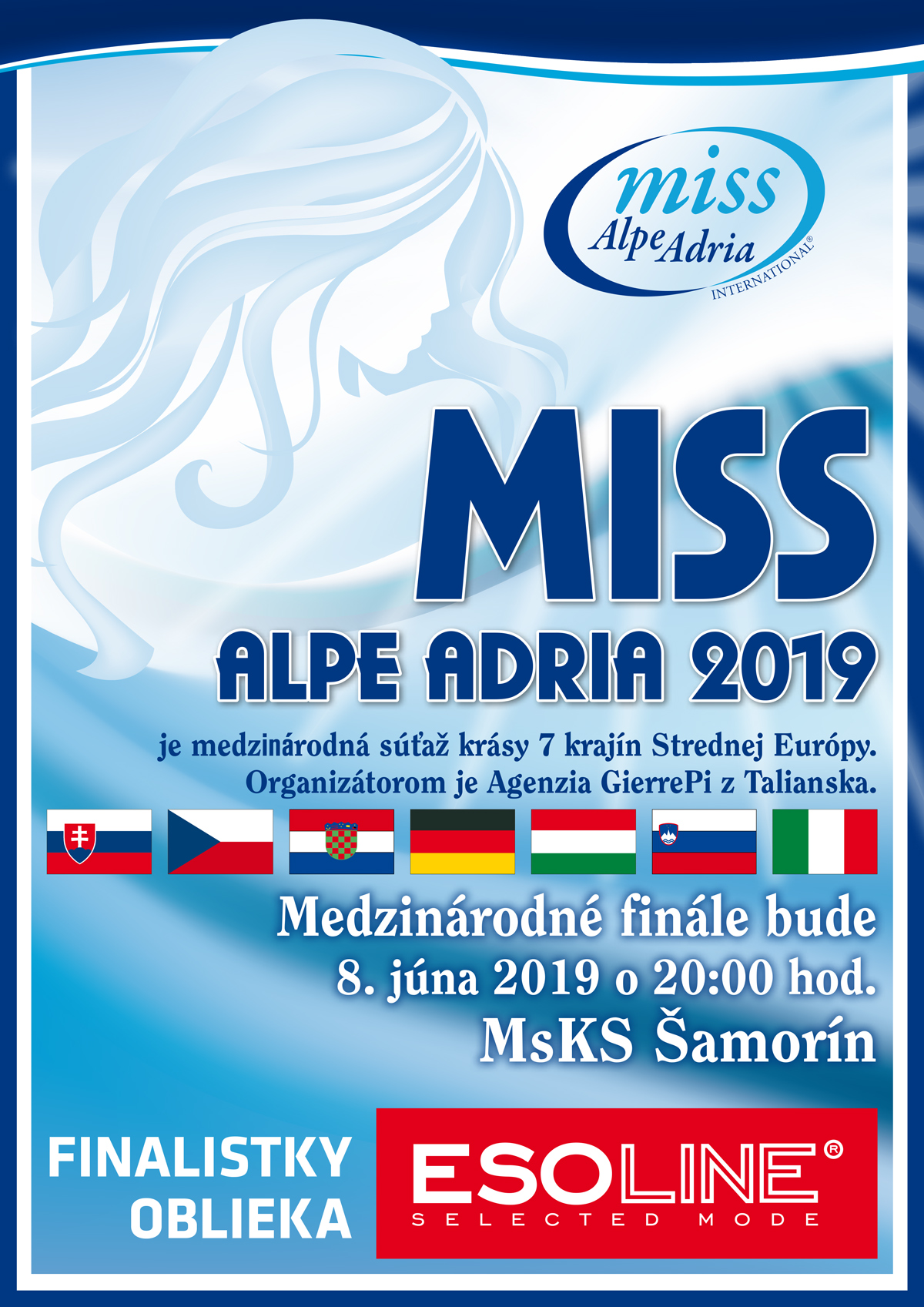 MISS ALPE ADRIA 2019 - ESOLINE