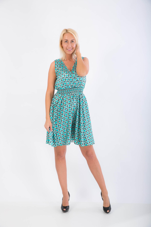 359007fc66e8 Saténové šaty modré- ss
